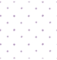 Purple Dots Simple Seamless Pattern on White vector image vector image