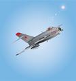 Russian plane copy vector image vector image