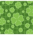 Seamless pattern St Patrick Day vector image vector image