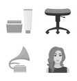 business cosmetology salon and other web icon in vector image vector image