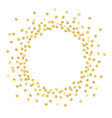 gold circle new vector image vector image