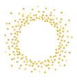 Gold circle new vector image