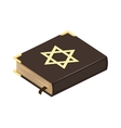 Jew bible book vector image vector image