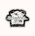 motor club emblem for t-shirt vector image vector image