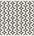 monochrome minimalistic seamless pattern with vector image vector image
