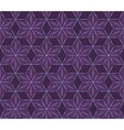 retro violet flowers pattern vector image vector image