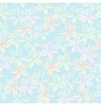 soft pastel floral background seamless vector image