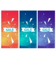Super Sale Special Offer vertical banners vector image vector image