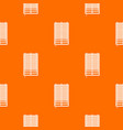 window with wooden jalousie pattern seamless vector image vector image