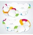 Abstract Banners Backgrounds Eps10 Format vector image vector image