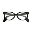classic frame glasses icon image vector image vector image