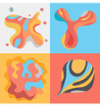 Pattern Art Colorful set vector image vector image