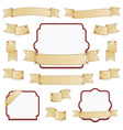 ribbons and frames vector image vector image