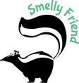 Smelly Friend vector image vector image