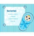 baby boy card 3 vector image