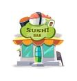 sushi bar or chinese vector image