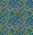 line pattern blue vector image