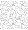 abstract seamless pattern mosaic of wire vector image vector image