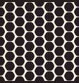 hexagon seamles geometric pattern vector image vector image