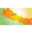 Nepal country vector image