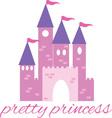Pretty Princess vector image