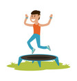 sport or fitness related icon image vector image