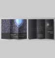 the minimal layouts modern creative covers vector image vector image