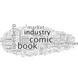 a comedy comic book industry errors vector image vector image