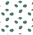 Blueberry pattern vector image vector image
