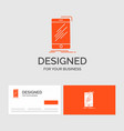 business logo template for device mobile phone vector image vector image