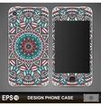 Phone case design vector image