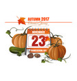 usa thanksgiving day 2017 vector image vector image