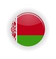 Belarus icon circle vector image