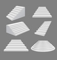 building stairs 3d scala vector image