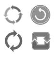 Circle button isolated vector image vector image