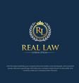 law logo designs vector image