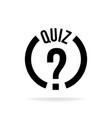 question mark sign icon help speech bubble symbol vector image vector image
