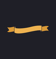 Wave ribbon computer symbol vector image