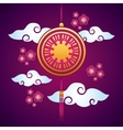 chinese decoration hanging vector image vector image
