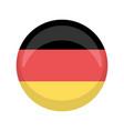 retro germany campaign button vector image