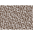background in style pixel brown vector image