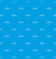 barbecue pattern seamless blue vector image vector image