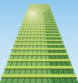 business building vector image vector image