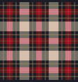 classic tartan plaid seamless pattern vector image vector image