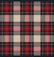 classic tartan plaid seamless pattern vector image