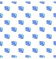 Film projector pattern cartoon style vector image vector image