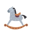 Horse toy breed vector image