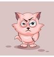 Nice cat angry
