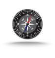 realistic compass vector image vector image