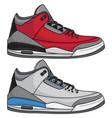 sneakers 2020 vector image vector image